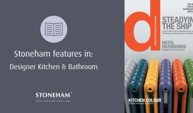 Stoneham features in Designer Kitchen & Bathroom