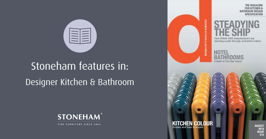 Stoneham features in Designer Kitchen & Bathroom