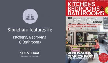 Stoneham features in Kitchens, Bedrooms & Bathrooms magazine