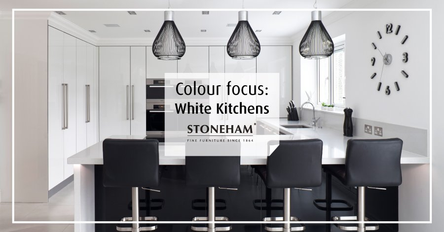 Stoneham's blog advises home owners of how to style your kitchen in white.