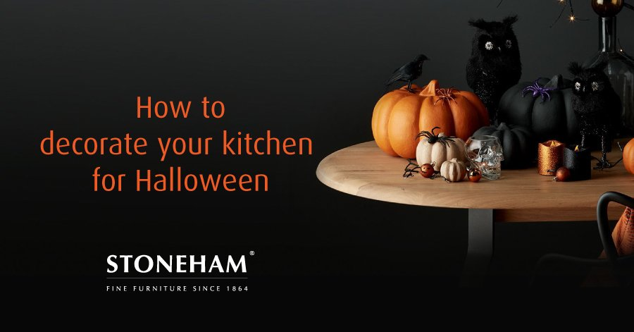 Stoneham gets spooky with our guide on how to decorate your kitchen for Halloween.