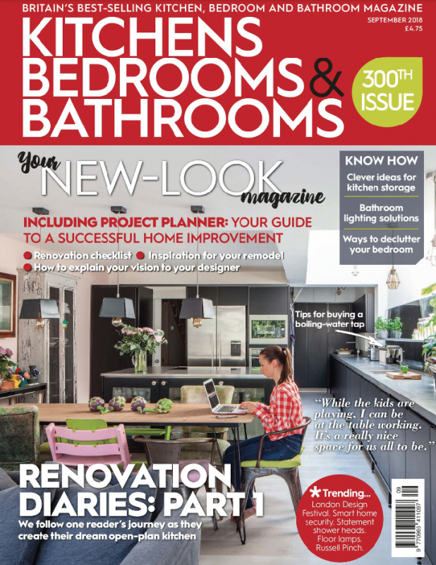 Kitchens, Bedrooms & Bathrooms' September 2018 issue