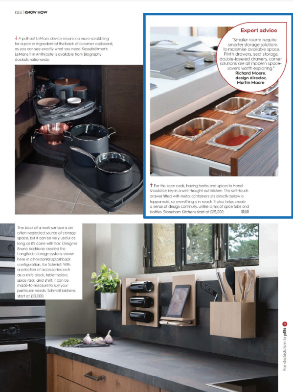Take a look at Stoneham's section of the magazine's feature on storage.