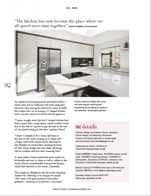 Stoneham features in Utopia Magazine this month, here is the final page of the article