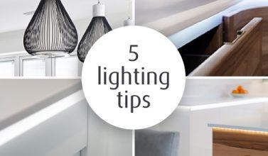 5 lighting tips