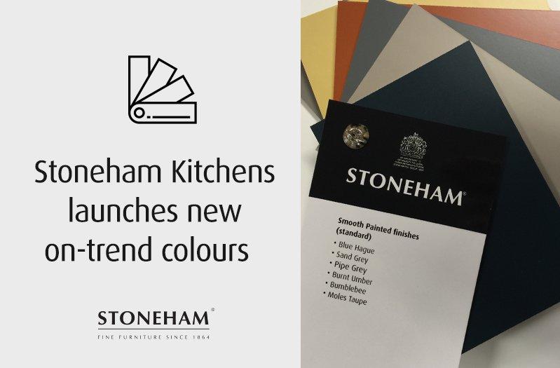 Stoneham launches new colours to the kitchen range