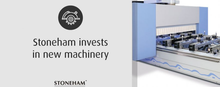 Stoneham invests in new machinery