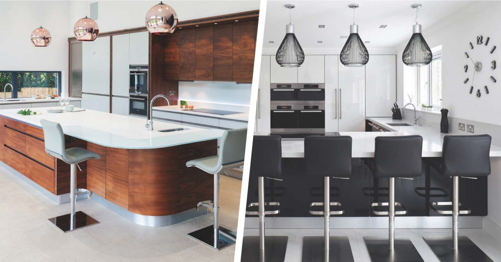 Kitchen island vs peninsula