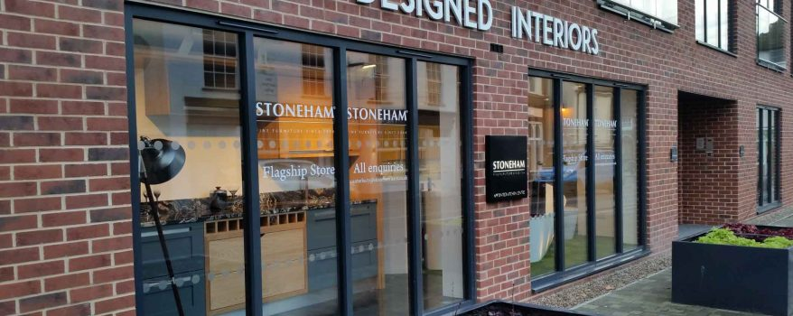 Stoneham celebrates new partnership with Designed Interiors of Canterbury