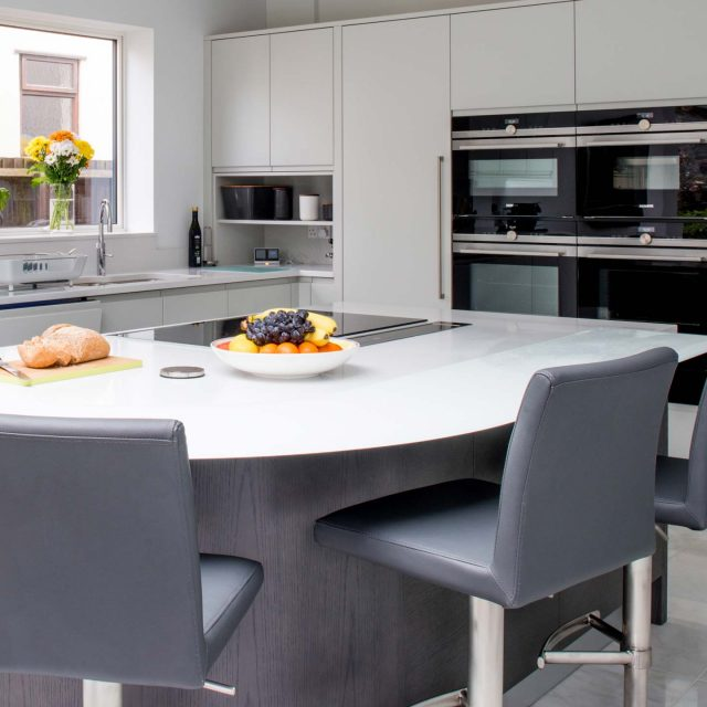 Customer story contemporary Flow kitchen