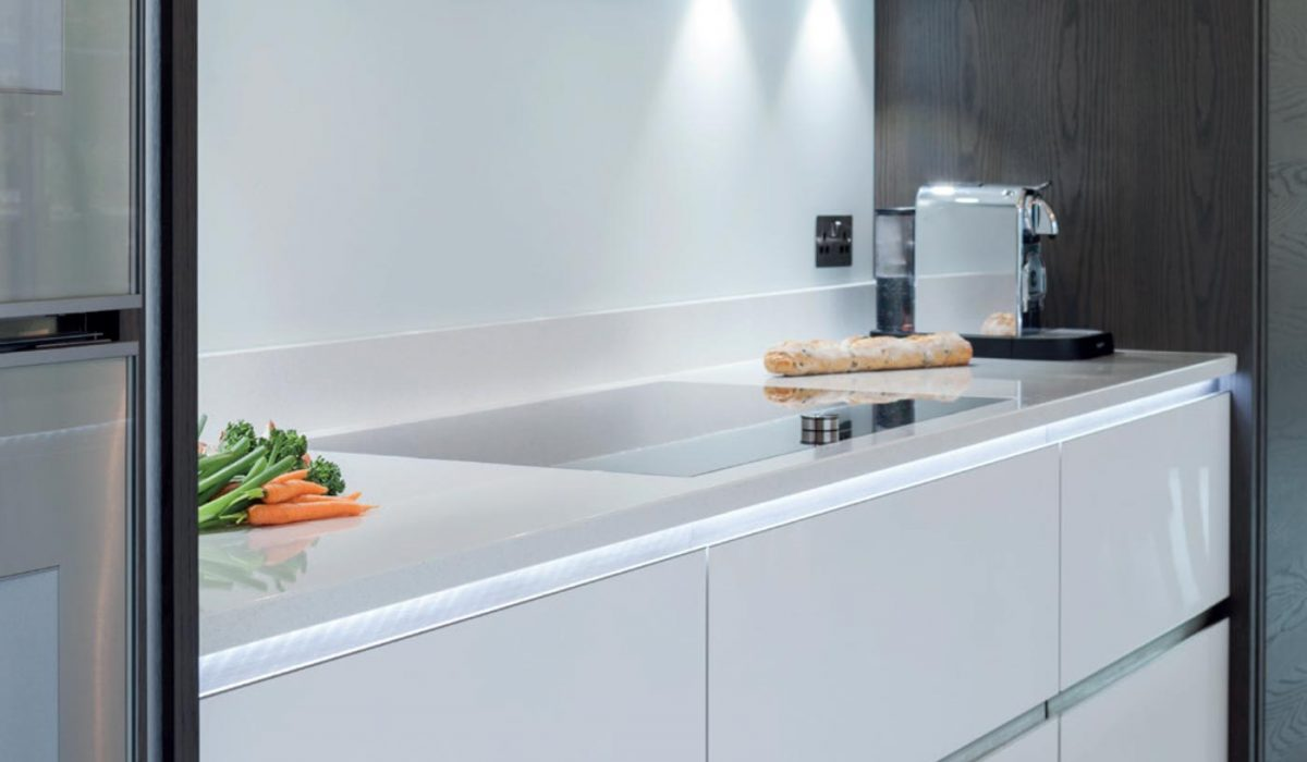 Holwood and Infinity customer story image of worktop