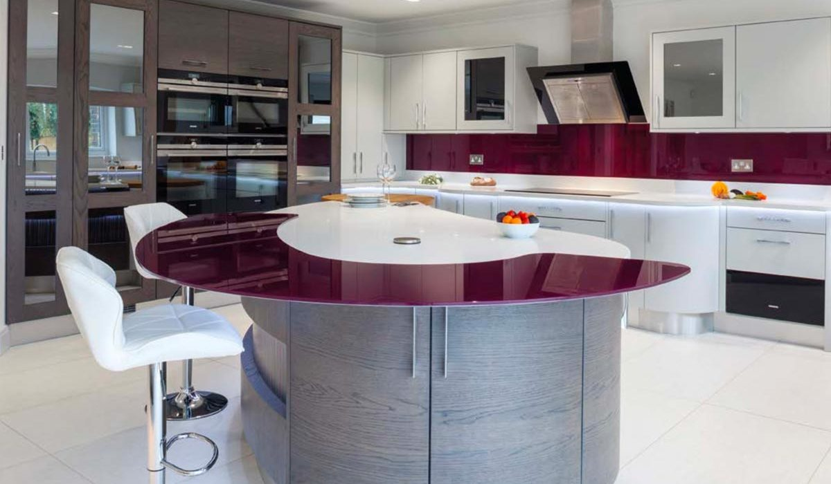 Stoneham Kitchens contemporary kitchen blending different materials stoneham kitchens