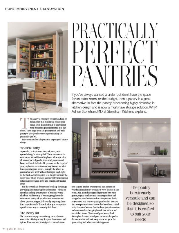 Chislehurst Life artcile on the kitchen pantry