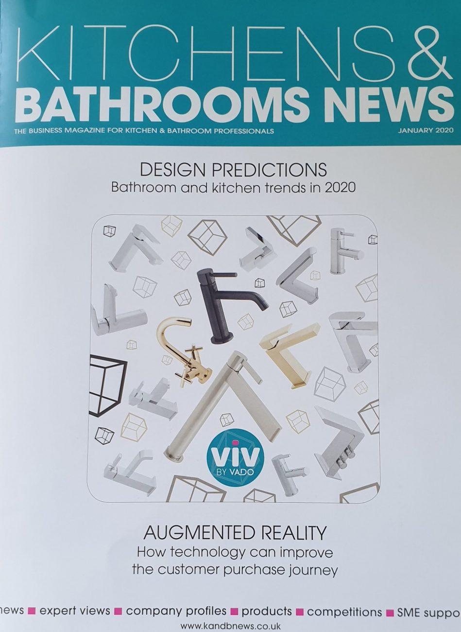 Kitchens & Bathrooms News magazine front cover