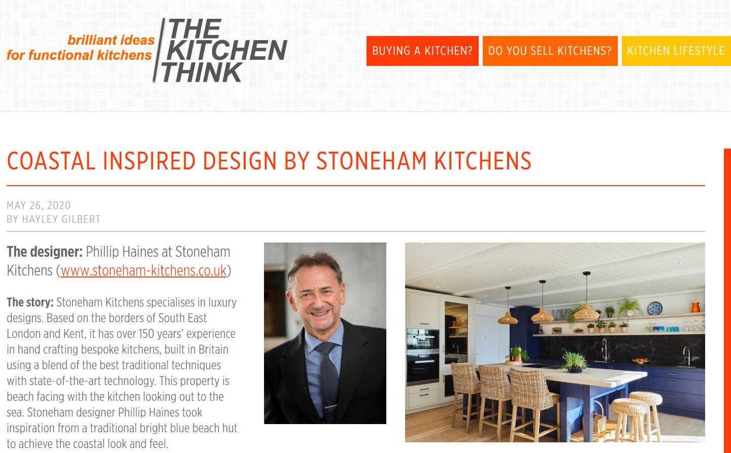 The Kitchen Think article
