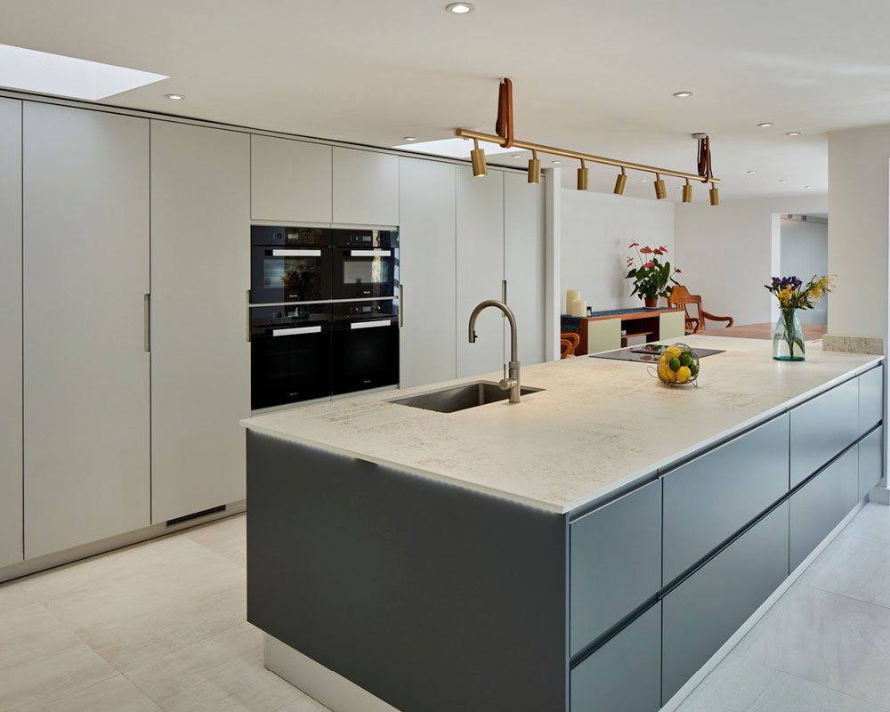 Flow and Fusion ranges in Dove Grey and Dark Pipe Grey