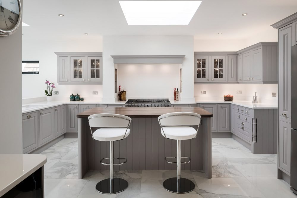 Grey kitchen from Stoneham Scotney collection