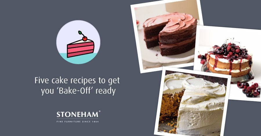 chocolate cake, fruit cake and carrot cake