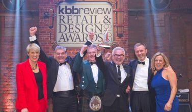 Kitchens International team at KBB awards