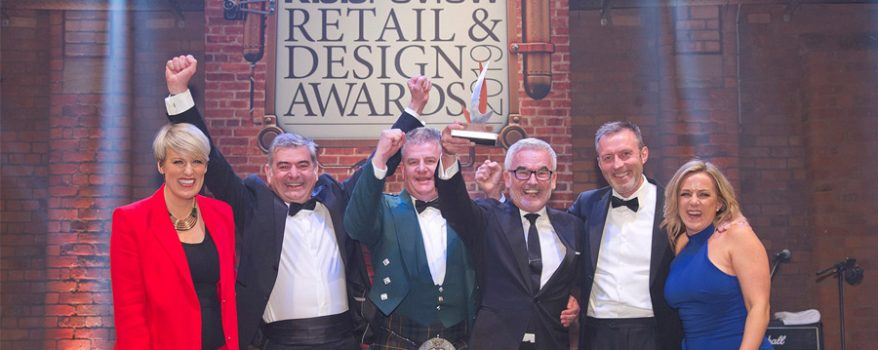 Kitchens International team at KBB awards