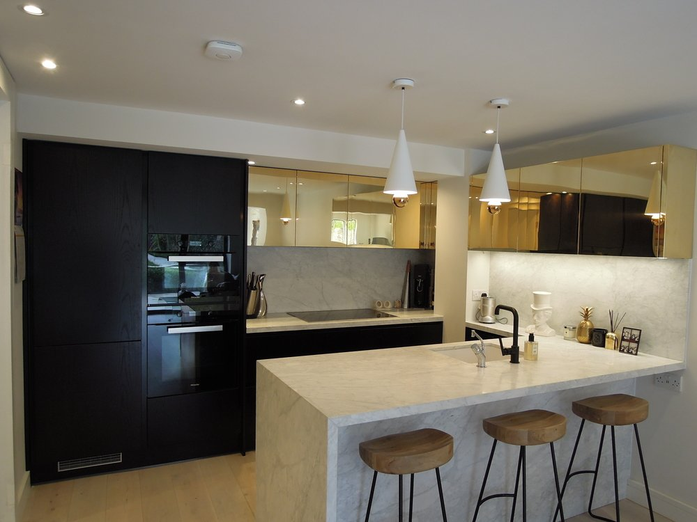 Spotlight On Black Kitchens Stoneham Kitchens