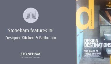 Designer kitchen & bathroom magazine front cover