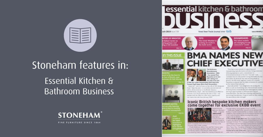 essential kitchen & bathroom business magazine front cover