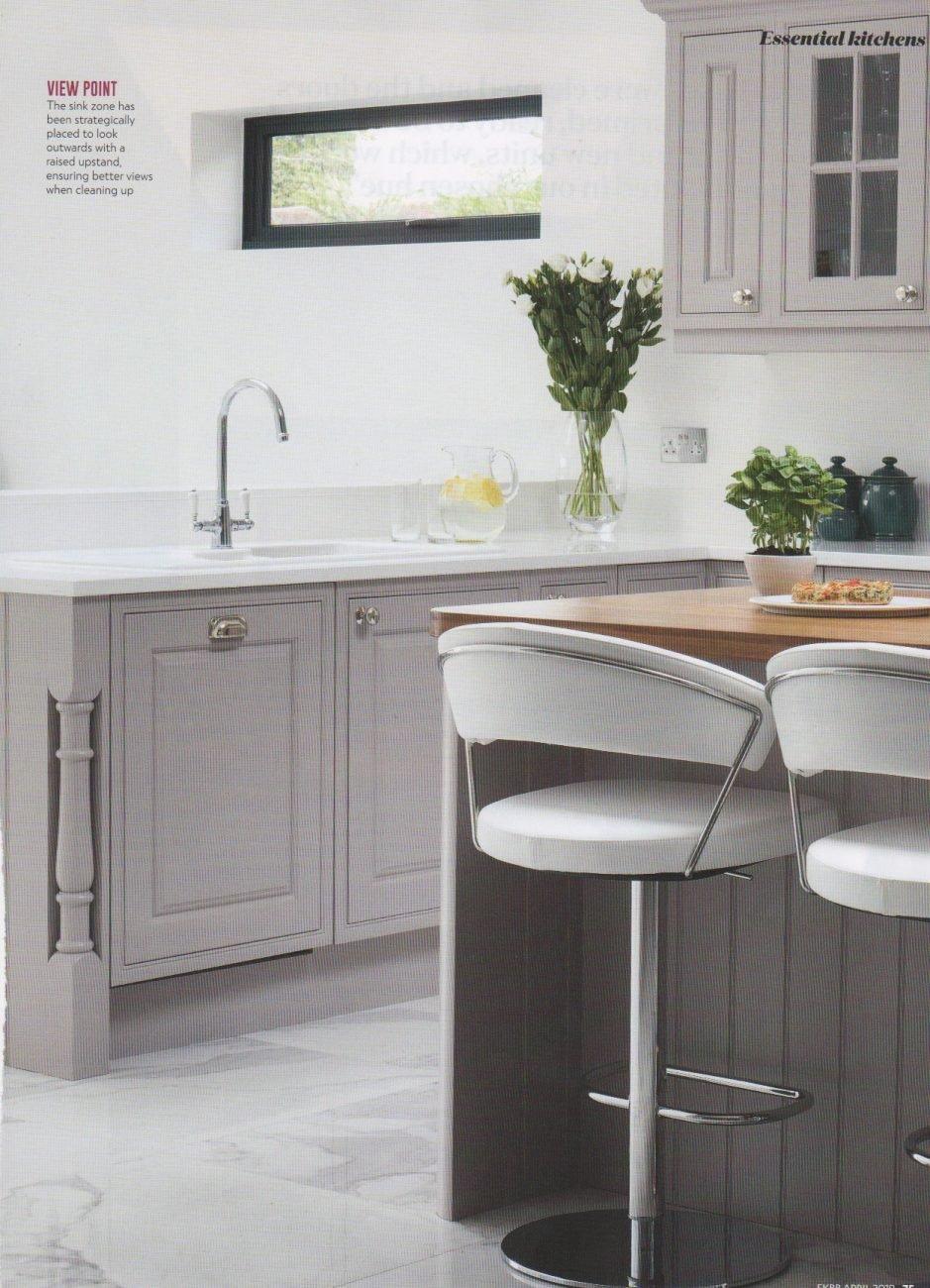 Stoneham Kitchen case study article in essential kitchen bathroom bedroom