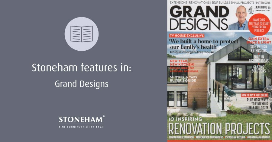 Front cover of Grand Designs February issue