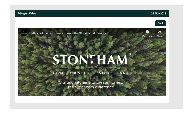 Snapshot of Stoneham video on kb-eye