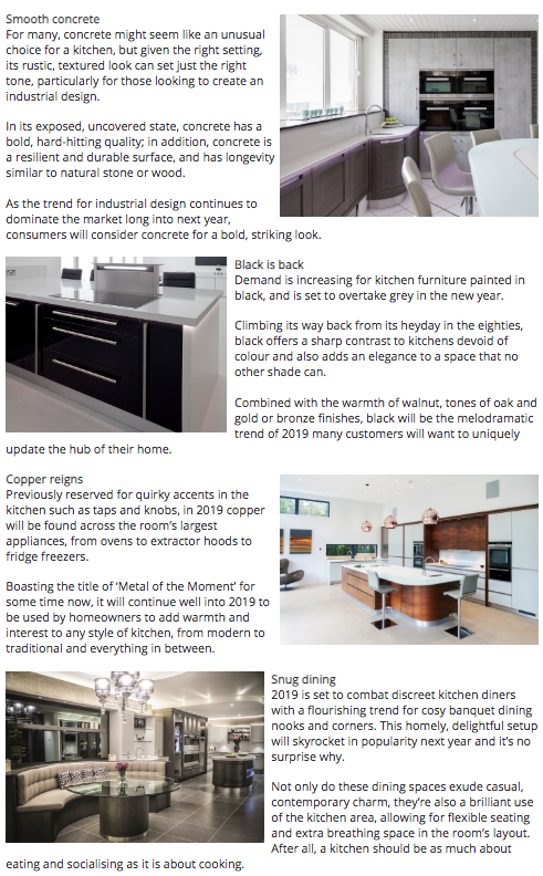Second part of a kitchen trends 2019 article from kbbdaily