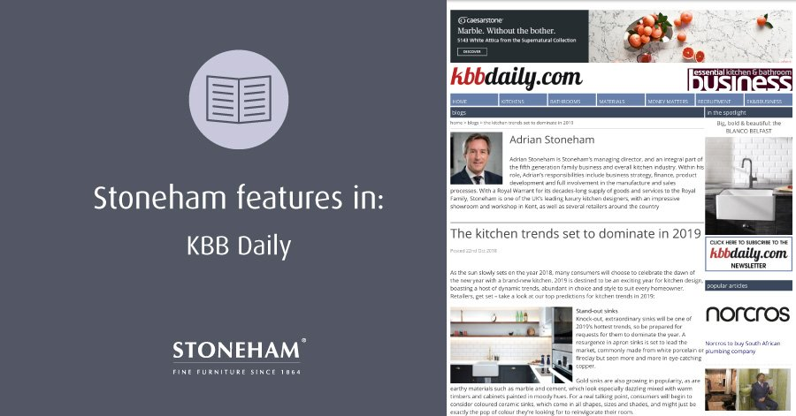 kbbdaily snapshot of kitchen trends article