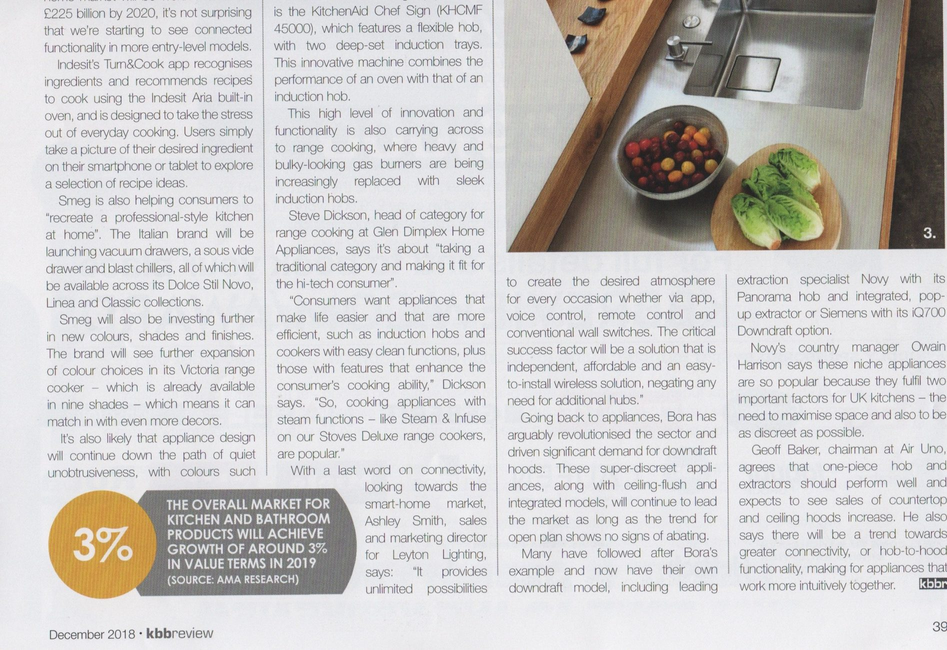 Part 5 of a kitchens trends article in kbbreview magazine