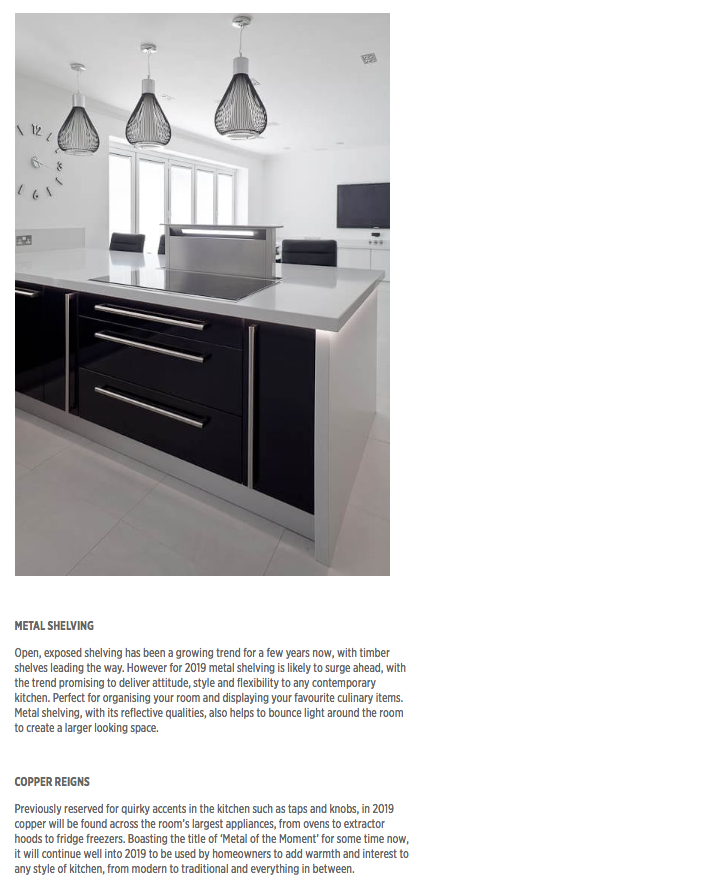 Part three of a kitchen trends article in The Kitchen Think
