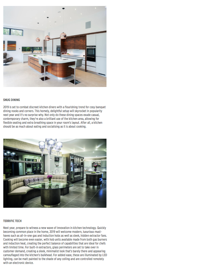 Part four of a kitchen trends article in The Kitchen Think