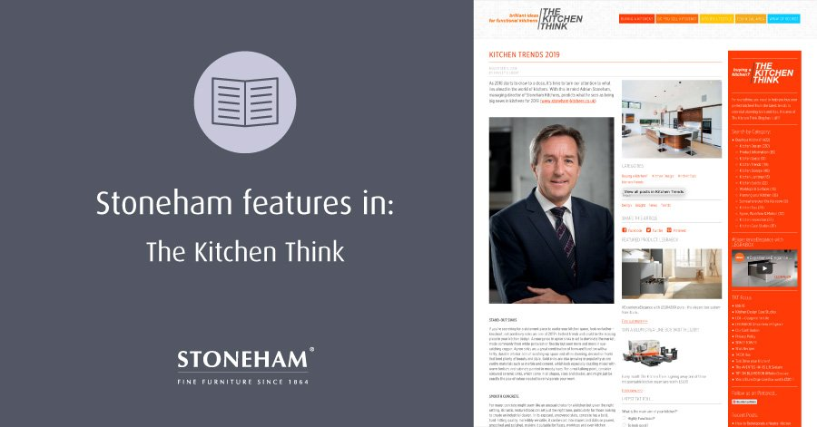 Snapshot of The Kitchen Think trends article
