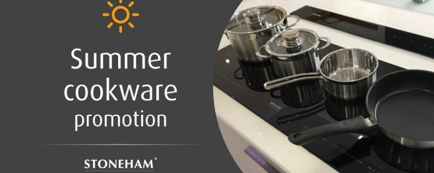 Stoneham kitchen summer cookware promotion
