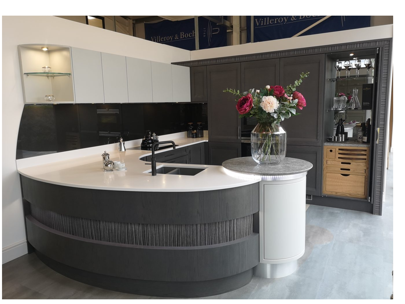 Stoneham kitchen at KSL Sudbury showroom