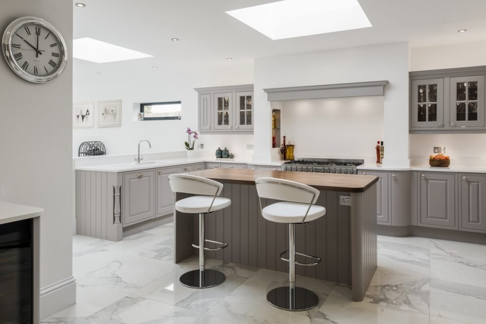 A great image from Stoneham's latest project, showcasing their Scotney collection.